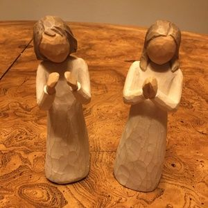 Willow Tree set of 2/Sisters by  Heart